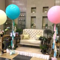 結婚披露宴フリンジバルーン装飾
